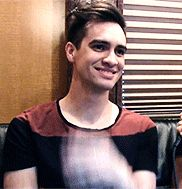 Everyone needs this in their life- a little Brendon Urie to brighten your day!