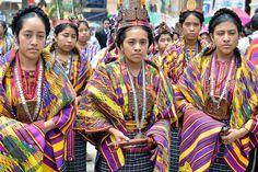 Guatemala. Feria de San Juan Sacatepéquez. Reinas indígenas. | Flickr: Intercambio de fotos