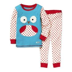 Skip Hop ZOOJAMAS Little Kid Pajamas Owl