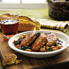 Prepare this quick Tuscan pork with chickpeas and spinach courtesy ofHomemade in Half the Time. To save time, purchase pre-marinated pork fillets or make your own marinade and let the flavors infu...