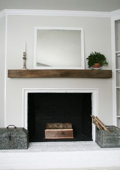 Floating Fireplace Mantel Reclaimed Wood Redo Bedroom Ideas Simple Mantels Shelf