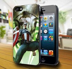 Captain America iPhone 5 Case | kogadvertising - Accessories on ArtFire