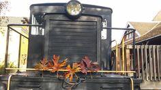 Cecile the Diesel looking festive Halloween Train, Railway Museum, Train Rides, Festive