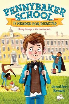 Pennybaker School is headed for disaster by Jennifer Brown. Thomas Fallgrout is a new student at Pennybaker Academy for the Uniquely Gifted where he his blamed for a missing statue so he teams up with his oddball friend Chip Mason to find it.