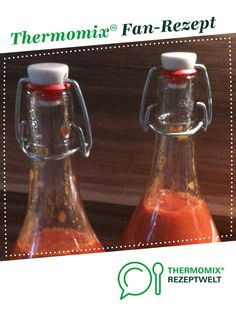 Zanzibar Curry Sausage Sauce by A Thermomix ® recipe from the Sauces / Dips / Spreads c Curry Ketchup, Curry Sauce, Thermomix Curry, Curried Sausages, Sausage Sauce, Dips, Chutney, Spray Bottle, Cleaning Supplies