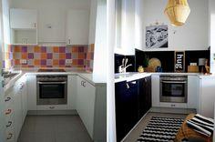 Fekete fal a konyhában | Merci-Ancsa dekor