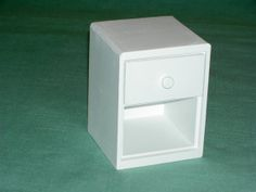 Playscale Bedside Table by bedMiniatures on Etsy, $18.00