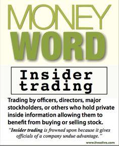 Insider Trading?