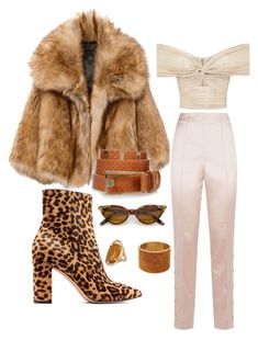 A fashion look from January 2018 featuring pink top, faux fur coat and stretch pants. Browse and shop related looks. Dsquared2, Sunnies, Fur Coat, Fancy, Shoe Bag, Polyvore, Jackets, Stuff To Buy, Shopping