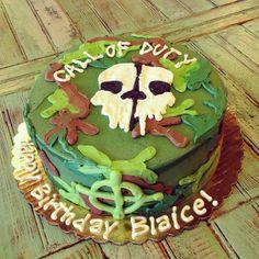 Call of Duty cake by 2tarts Bakery / New Braunfels, TX / www.2tarts.com