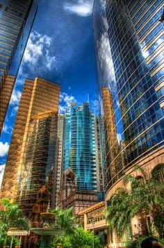 Reflective Buildings - Hong Kong HDR