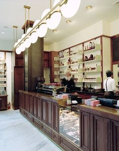 Some excellent interior work by Roman and Williams. #Stumptown Coffee at the #AceHotel