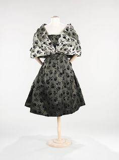 Evening ensemble by Dior (1953)