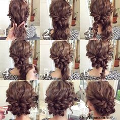 updo. how to easily make updo for long, medium and short hair if you don't have a lot of time