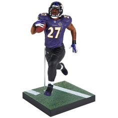 Positioned mid-stride and gripping the football, this Ray Rice NFL Series 32 Action Figure is ready for action!