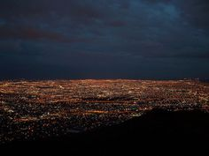 """Cities of a Billion Lights""- El Paso, TX & Ciudad Juarez, Chihuahua, Mexico"