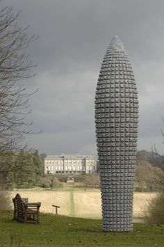 Peter Randall-Page sculpture in London.