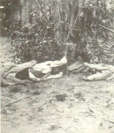 In Florida, during slavery, slave masters would take enslaved black children, tie a rope around their legs, then putthemin the water to be used as ALLIGATOR BAIT