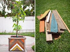 The 35 Most Creative DIY Planters via Brit + Co.
