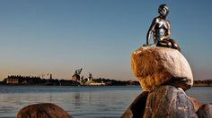 Copenhagen Destination: The little mermaid statue © Rasmus Flindt Pedersen
