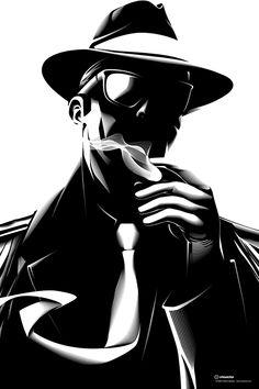 Noir by Cristiano Siqueira, via Behance