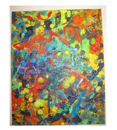 """another view of """"Mottled"""" -Emily Miller"""