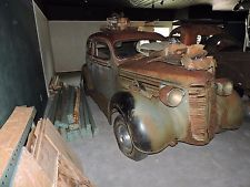 1937 Dodge 2dr Sedan Project Car Pa Rat Rod Vintage Cars Car Parts