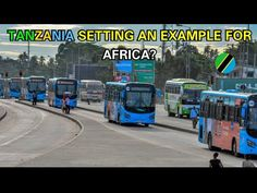 Trust And Loyalty, Dar Es Salaam, Rapid Transit, Tanzania, Sustainability, Transportation, Africa, Good Things, Tv
