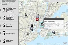 Mapping out an interactive history of the #SuperBowl - #Esri #storymap #interactivemap #NFL