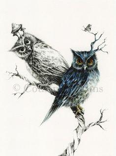 Owl Tattoo | Courtney Brims