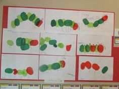 Absolutely awesome page for how to coordinate a Very Hungry Caterpillar curriculum theme with a Mother's Day event for your preschoolers!