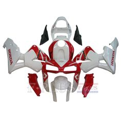 Aftermarket Fairings For Honda CBR600RR 05-06 Red White ABS Kits 2005 2006