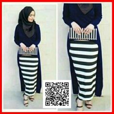 baju maxi gita dress modis MGS31 NAVY