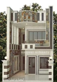 Top 35 Cool House Design Ideas Ever Built - Engineering Discoveries Classic House Design, Unique House Design, House Front Design, Cool House Designs, Pop False Ceiling Design, Home Stairs Design, House Architecture Styles, Small House Exteriors, House Elevation