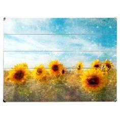 Sunflower Sky Wall Decor