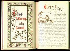 Manuskript Alice 1. Kapitel - Lewis Carroll – Wikipedia