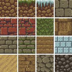 Image result for pixel art wood