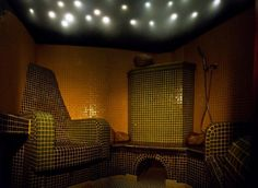 Rasul - mists of steam float through the room, the starry sky glows mysteriously, soft music plays in the background, and your company is hidden by fragrant mist.Hotel & Resort SPA Termy Medical WARMIA PARK in Poland, Warmia and Masuria, Pluski near Olsztyn