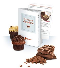 Recetario gratuito para descargar. Con 13 recetas fáciles de postres para amantes del chocolate