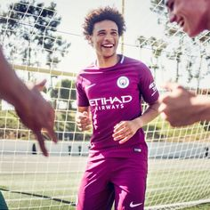 A new aesthetic. and reveal the new Away jersey. Coming this week to SOCCER. Nike Football, All Smiles, Instagram Shop, Manchester City, Soccer, Hot, Shopping, Fashion, Hs Football