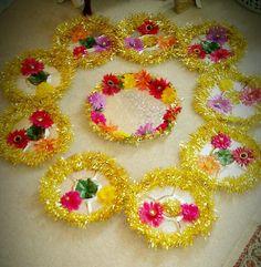 Pakistani wedding! Mehndi plates <3