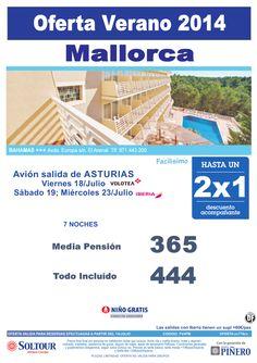 Mallorca - Hasta 2x1 Hotel Bahamas, salidas 18, 19 y 23 Julio desde Asturias ultimo minuto - http://zocotours.com/mallorca-hasta-2x1-hotel-bahamas-salidas-18-19-y-23-julio-desde-asturias-ultimo-minuto/