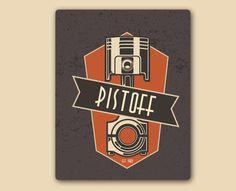 Retro Logo Experiments by Doychin Doychev, via Behance