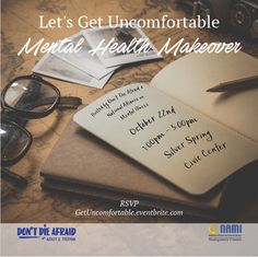 Let's Get Uncomfortable: Mental Health Makeover Event