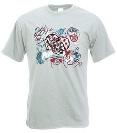 Camiseta MC Love Punk Blanca