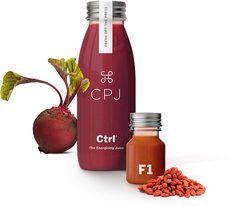 CPJ Juice Bottles #packaging