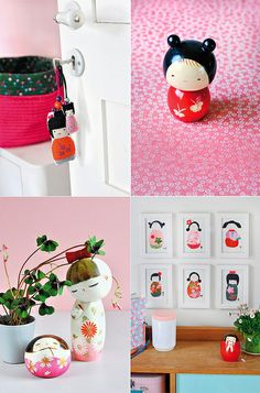 Kokeshi dolls diy and book by decor8