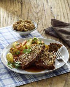 Unser beliebtes Rezept für Vegetarischer Walnuss-Braten mit Soße und mehr als 55.000 weitere kostenlose Rezepte auf LECKER.de.