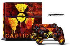 Designer Skin for PS4 Playstation 4 Console + Dualshock Controller Decals MELT