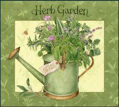 Image result for kitchen herb garden decoupage